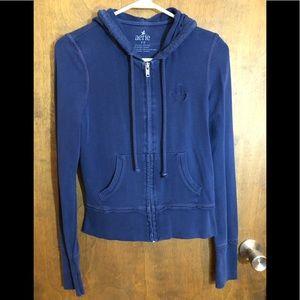 Size small Aerie Zip up hooded sweatshirt